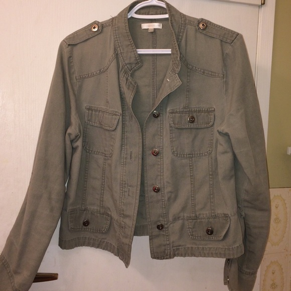 Camo Green Jean Jacket